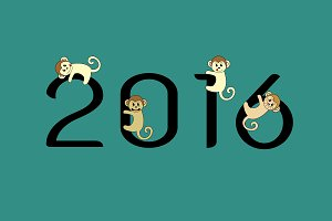 monkeys and 2016 numbers