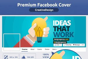 50% OFF- Creative Design FB Cover