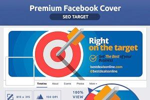 50% OFF- FLAT SEO TARGET FB Cover