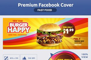 50% OFF- Fast Food FB Cover