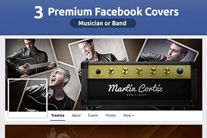 50% OFF- Musician FB Covers