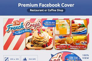 50% OFF -Coffee Shop - FB COVER