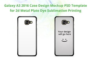 Galaxy A3 2016 2d IMD Case Mock-up