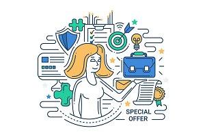 Special Offer Illustration