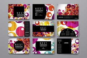 Colourful Card Templates
