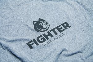 Fighter - Pitbull Logo