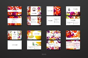 Colourful Business Card Templates