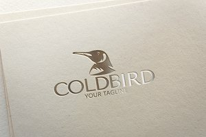 Cold Bird - Penguin Logo