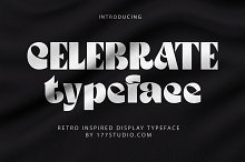 CELEBRATE FONT by  in Fonts