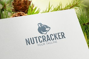 Nut Сracker - Squirrel Logo