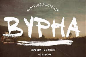 BYPHA 2 FONTS