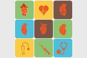 Cardiology flat set