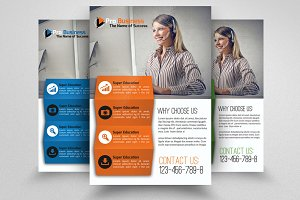 Management Consulting Business Flyer