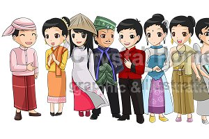 South-East Asian culture and costume