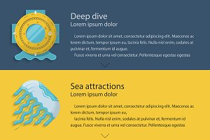 Nautical elements for web design