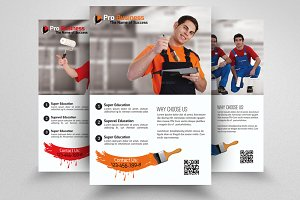 House Paint Contractor Flyer