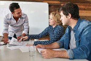Creative team planning
