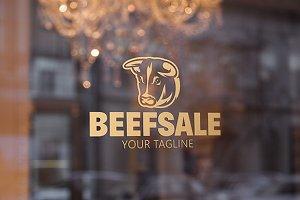 Beef Sale - Bull Logo