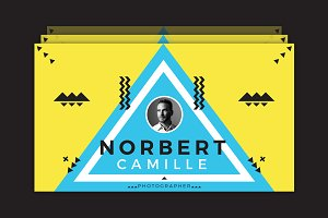 Norbert Camille Business Card