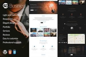 SD Business - WordPress Theme