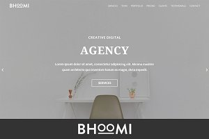 Bhoomi - Creative Agency HTML Theme