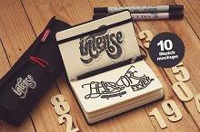 10 Sketch Mockups vol.1