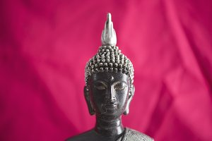 Buddha figure color