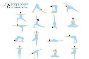 Yoga poses for pregnant women