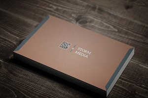 Minimal Corporate Business Card V4