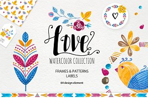 ♥ Love & Watercolor Collection ♥