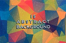15 abstract vector backgrounds