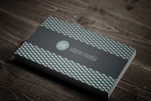 Minimal Corporate Business Card V5