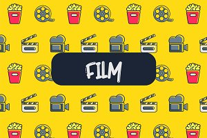 Film icon pattern