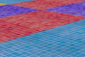 3d rendering tiles floor