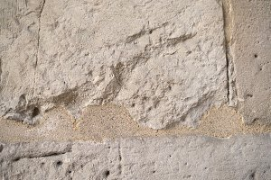 Texture with cracks of light stone