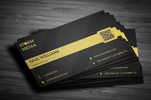 Minimal Corporate Business Card V6