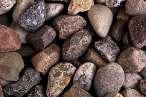 Uneven stones background