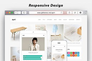 April - WordPress Theme