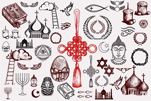 Religious objects