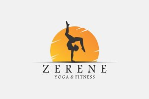 Yoga & Fitness Logo