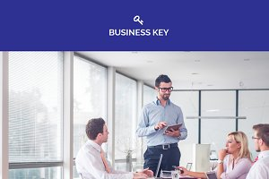 Business Key - Adobe Muse Template