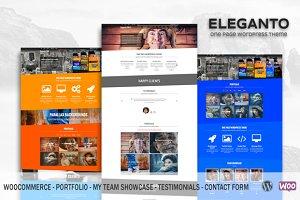 Eleganto PRO - Business WordPress