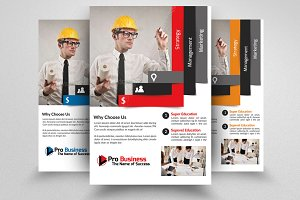 Industrial Construction Flyer