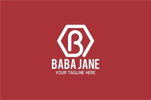Baba Jane  - Letter B Logo