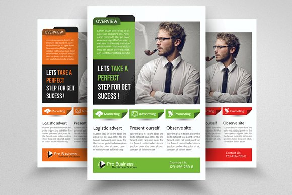 business executive coach flyer flyer templates creative market