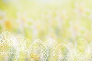 Spring background easter