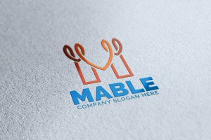 M Letter Logo MABLE