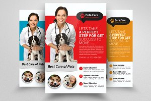 Pets Clinic & Care Centre Flyer