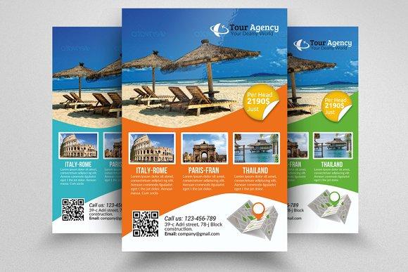 island brochure template - tour travel agency flyer template flyer templates