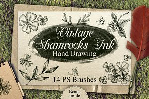 Shamrocks Ink Vintage PS Brushes
